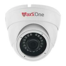 MaxxOne 3.6mm Ultra Wide Angle 5MP 20m Lens IR Fixed Dome White CCTV Camera