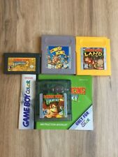 Donkey Kong Game Boy GBC GBA Lot!~Original, Country 1+2, Land *Excellent Carts*
