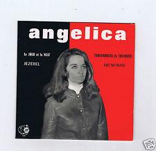 45 RPM EP ANGELICA JEZEBEL (JBP) AUTOGRAPHE