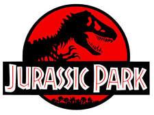 Jurassic Park Colored vinyl car Decal / Sticker