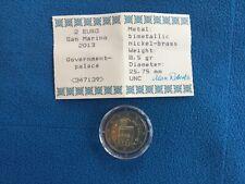 San Marino 2013: 2 Euro.  Regierungspalast, UNC, Kapsel m. Zertifikat