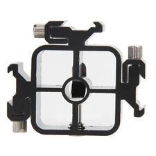 3 in1 Triple Hot Shoe Mount Adapter Flash Light Stand Umbrella Holder Bracket #J