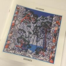 aaf5afa4dbb1 Authentic Le Carre Hermes Fall Winter 2015 Scarf Catalogue Booklet in  ENGLISH