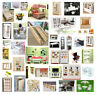 Dolls House Miniature Furniture Sofa Bed Cabinet Table Chair Clock Guitar Stair