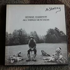 George Harrison All Things Must Pass Apple STCH 639 3LP Nice Box Set 1970