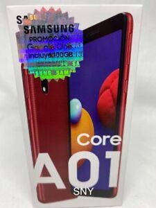 "SAMSUNG GALAXY A01 CORE 16Gb (GSM UNLOCKED) 5.3"" 4G LTE T-Mobile/ATT/METRO"