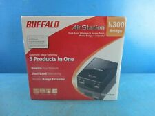 Buffalo Technology N300 Gigabit Wireless N Router Extender - NEW! SEALED!