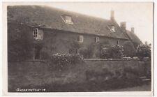 Oxfordshire; Shenington RP PPC Local Interwar PMK, Sent By Holiday Resident