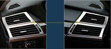 US Ship Inner Side Air Condition Vent Cover Trim 2pcs For BMW X5 E70 2007-2013