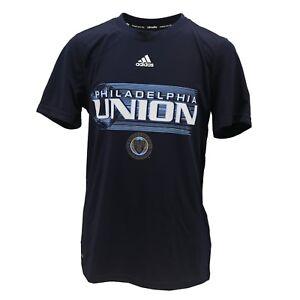 Philadelphia Union MLS Adidas Climalite Kids Youth Size Athletic Shirt New Tags
