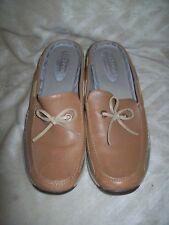 Women's Size 8 M LIZ SPORT CLAIBORNE Brown Slip-On Mules Shoes