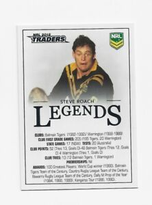 2018 Rugby League TLA Traders Case Card CC2 Steve Roach Balmain Tigers #139