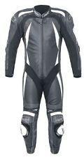 Combinaisons de motocyclette noirs en cuir, taille 46