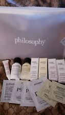 New Philosophy Purity Super Gwp Travel 14 Piece Set with cosmetic Bag