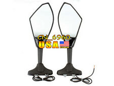 Left Right View Mirrors For Suzuki GSX-R 750 GSXR750 1996-2012/GSX650F 2008-2011