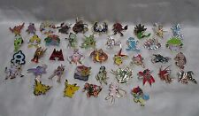 Mixed lot of 10 RANDOM different Pokemon Pins. From various card retail packs.