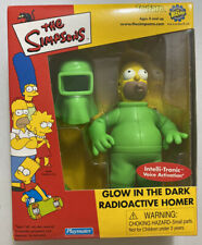 Brand New ToyFare The Simpsons Glow in the Dark Radioactive Homer Action Figure