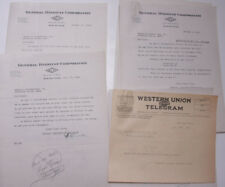 1926 Lamson Goodnow General Dyestuff Corp Boston MA Telegram Ephemera L496B