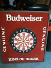 Budweiser Dart Board - see pic for measurements  Dated Dec 1989