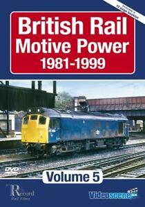 British Rail Motive Power 1981-1999: Volume 5