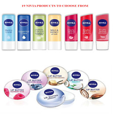 NIVEA LIP CARE FRUITY, BALM, BUTTER, ESSENTIAL, MEN, COLOUR HYDRO, PEARLY,  4.8g