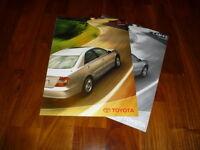 Toyota Camry Zubehör Prospekt 02/2002
