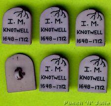 Gravestone Cimitero Halloween GRIGIO headstone Novità Dress IT UP Pulsanti Craft