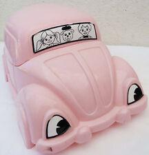 POT D'ENFANT VW COCCINELLE ROSE STAMP AUTHENTIQUE made in ITALY1968 DESIGN LOFT
