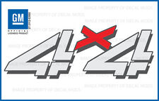 99 - 06 GMC Sierra 4x4 decals - F - stickers truck bed side set full color