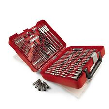 Craftsman Drill Bit Set 100 Piece Accessory Tool Kit Driver Screw Nut Tools Case