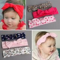 3pcs/ Set Lovely Baby Girls Newborn Headband Bow Hair Band Accessories Headwear