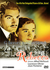 Rebecca (1940) - Alfred Hitchcock, Laurence Olivier, Joan Fontaine (Region All)