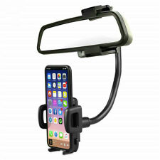 Lot* Universal 360° Car Rearview Mirror Mount Stand Holder Cradle For Phone GPS