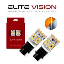 Elite Vision 3157 Switchback LED Turn Signal Light Bulb Kit for Ford 2600LM 3K