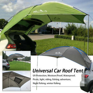 UK SUV Tent Car Awning Portable Waterproof Outdoor Camping Awning Sun Canopy