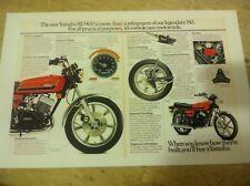 Vintage Yamaha RD400 Rd Motorcycle Poster Home Decor Man Art Christmas Present