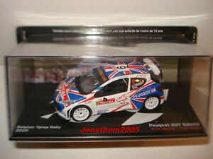Peugeot 207 S2000 #6 Belgium Ypres Rally 2009 - Meeke - Nagle to the / Of 1 /43°