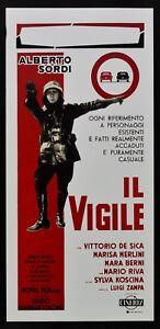 locandina IL VIGILE alberto sordi luigi zampa vittorio de sica koscina film L119