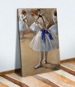 CANVAS WALL ART FRAMED PAINTING PRINT Edgar Degas The Dance Studio Ballerina