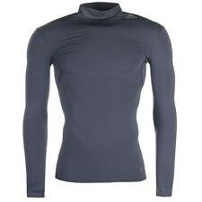 Adidas Techfit Climawarm Long Sleeve Thermal Compression Mock (XXL) Dark Grey...