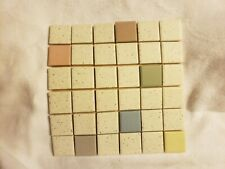 Vintage, Sample Tile Set, Zanesville Mosaic Tile Company