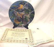 Edwin Knowles Kevin Daniel Baltimore Oriole Encyclopedia Britannica Garden Plate