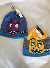 Volcom Faces Beanies Set of 2 One Size NWT