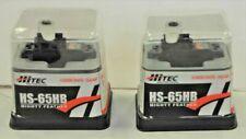 Hitec HS-65HB Mighty Micro Universal Servo HS65 65HB Karbonite - HRC33065S QTY-2