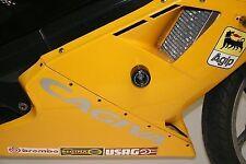 R&G Racing, Cagiva Mito 125 protectores de choque * Negro *