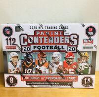 2020 PANINI CONTENDERS NFL FOOTBALL MEGA BOX BURROW HERBERT PRIZM TARGET RC AUTO