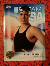 2016 Topps Olympics Gold #14 Missy Franklin, Swimming