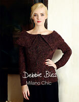 Milano Chic Pattern Booklet by Debbie Bliss - Dept Store Return