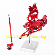 CNC Rear Sets Foot Pegs For Honda CBR954RR 2002 2003 Red New