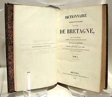 Dictionnaire historique et géographique de la province de Bretagne - 1843-53